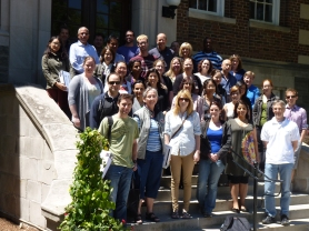 Geographical Epidemiology Students and Professors - June 2012