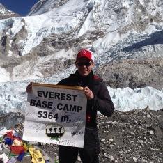 Everest Base Camp, 2014