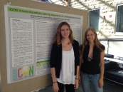 Team ICON at the CPES Undergraduate Poster Session 2014.