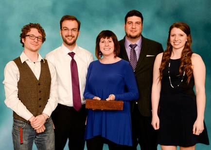 Be The Change award recipients: the Farm To Fork development team