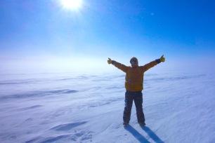 Standing on English River, Labrador
