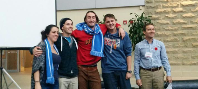 Team Cozy - winner of the grand prize at #FoodHack14