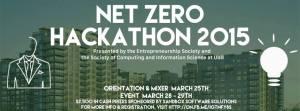 Net Zero Hackathon: March 25, 28, 29