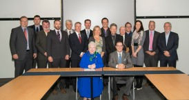 Taking part in the Mayor's Roundtable discussion on Environmental Sustainability with Her Honour, the Lieutenant Governor of Ontario