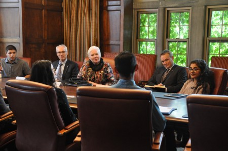 ICON students meet with the Lieutenant Governor of Ontario to discuss food sustainability and transdisciplinary education